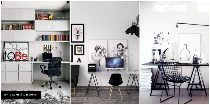 IDEIAS PARA HOME OFFICE