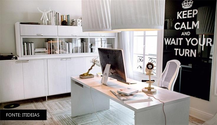 INSPIRAÇÃO HOME OFFICE ITIDEAIS