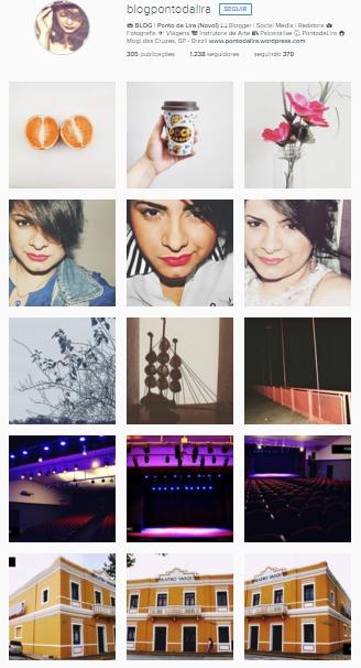 Instagram blog ponto da lira