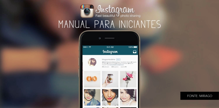 MANUAL PARA INICIANTES NO APLICATIVO INSTAGRAM - COMO USAR INSTAGRAM - BLOG PONTO DA LIRA