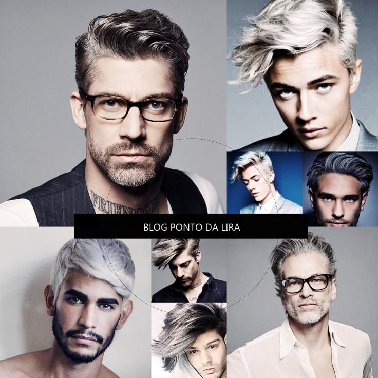 HAIR STYLE - GRANNY HAIR - CABELO CINZA FOR MEN - PONTO DA LIRA - MENS