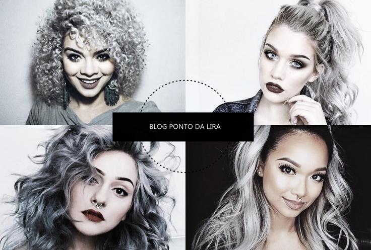 HAIR STYLE - GRANNY HAIR - CABELO CINZA PONTO DA LIRA