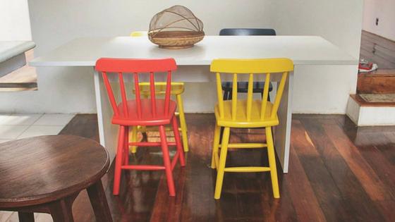 Hospedagem em Salvador - Pelourinho Bahia - Airbnb - Casa Azul - Blog Da Lira - Hospedagem na Bahia - Cozinha Colorida - Decoração