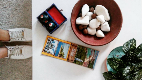 Hospedagem em Salvador - Pelourinho Bahia - Airbnb - Casa Azul - Blog Da Lira - Hospedagem na Bahia - Mesa de Centro Decorção