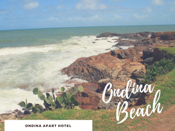 ondina beach - praias em salvador - onde comer moqueca na bahia - Lua de Mel na Bahia - AREA EXTERNA ONDINA - Ondina Apart Hotel - Apartamento 519 - Airbnb - Hospedagem em Salvador - De