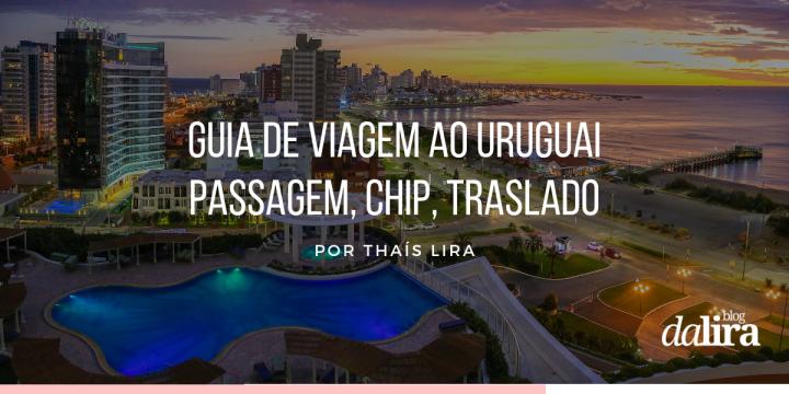 Uruguai: Passagem aérea, Chip de Internet, Cartão de Crédito, Sala VIP eTraslado